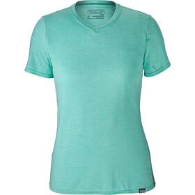 Patagonia Capilene Daily Kortærmet T-shirt Damer turkis